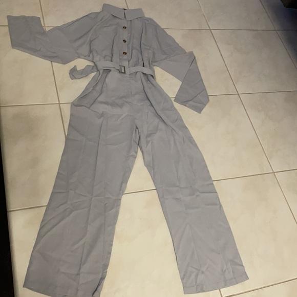 SHEIN gray jumpsuit